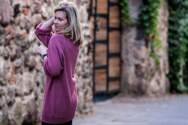 megztinis rudeninis kokonas, alpaca mist, galo yarns
