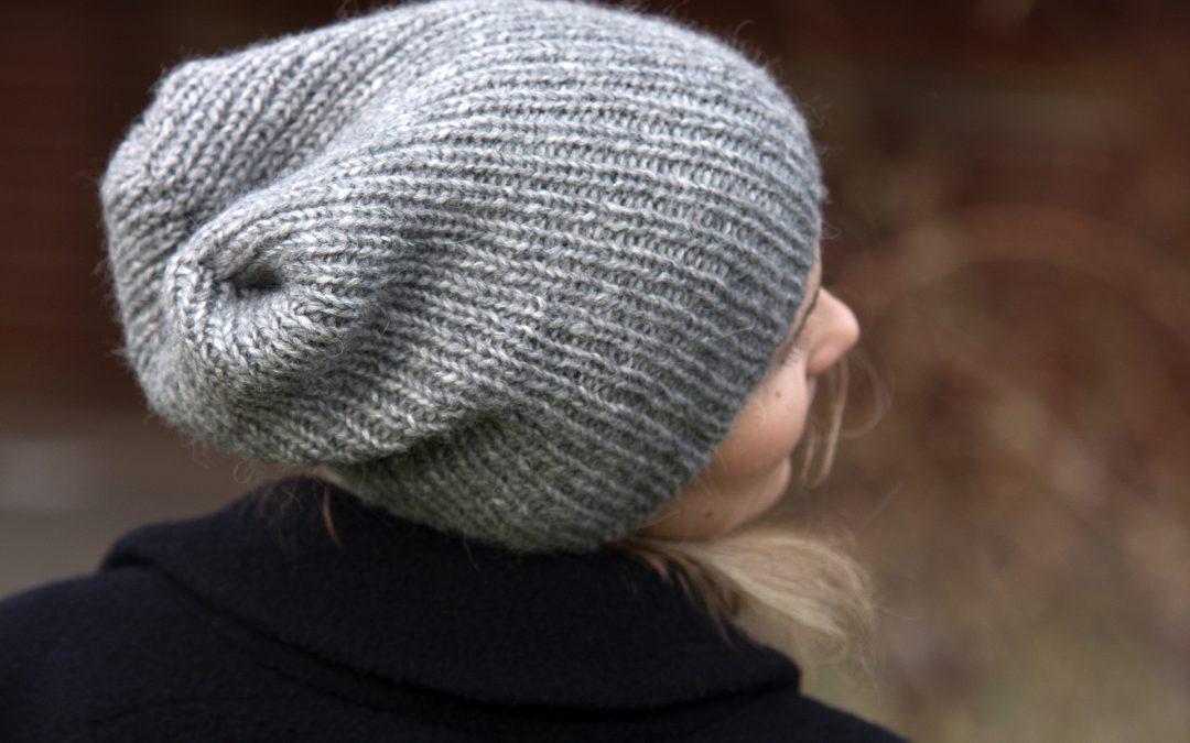 Alpaca Bubble kepurė pati šilčiausia