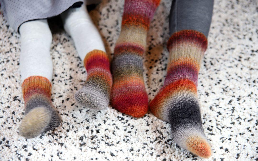 Crazy kojinės nuo pirštų
