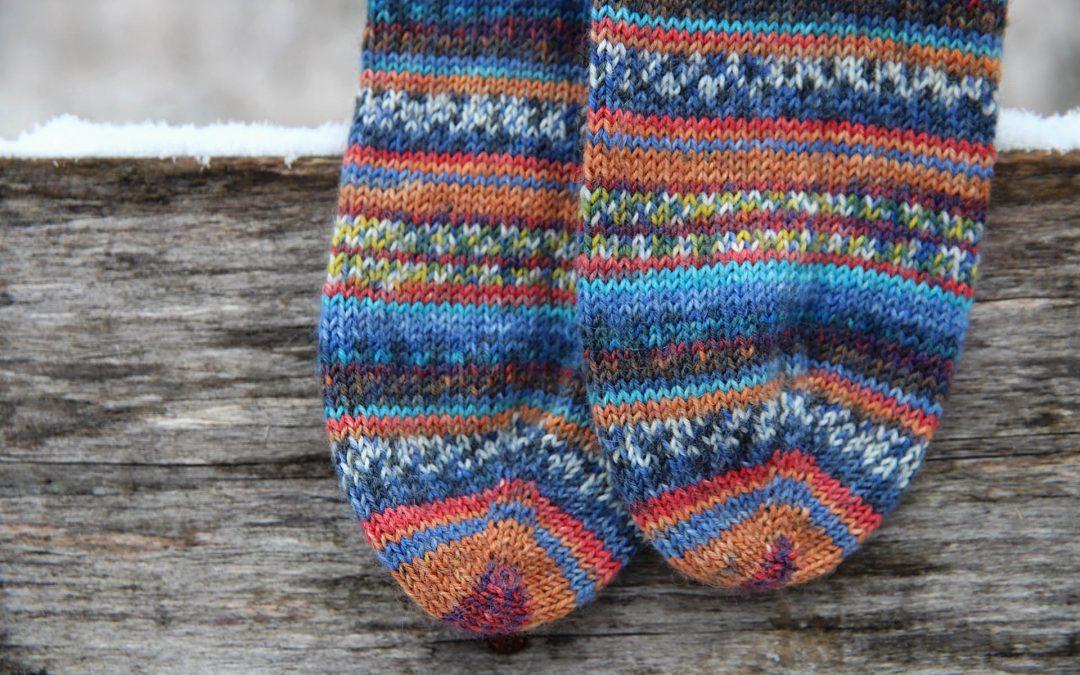 Opal kojinės pagal Hundertwasser